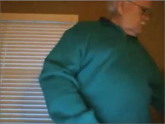 Hot daddy straight show and stroke webcam 2