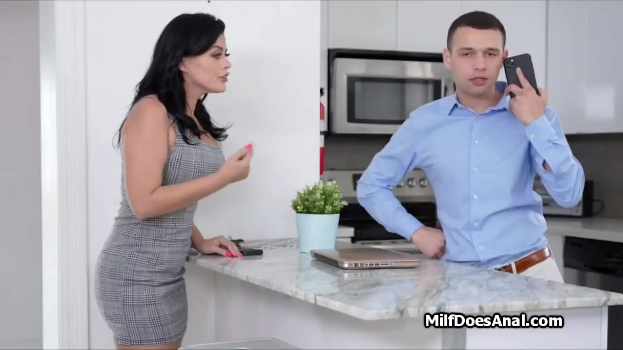Nadia pays bfs debt using her mouth and ass